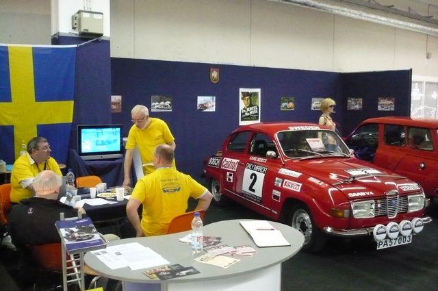 Saab Stand Techno Classica 2012