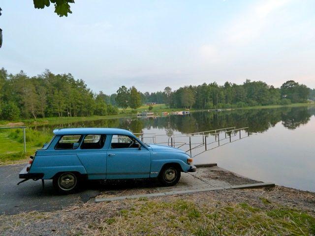 Saab 95 - первый автомобиль от Saab