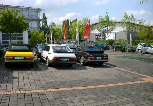 Bad Homburg: Saab 900 Coupe und Cabriolet