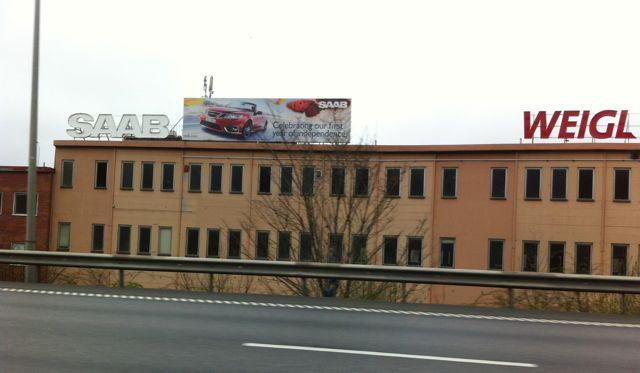 Antiga caixa de câmbio Saab Gotemburgo 2011