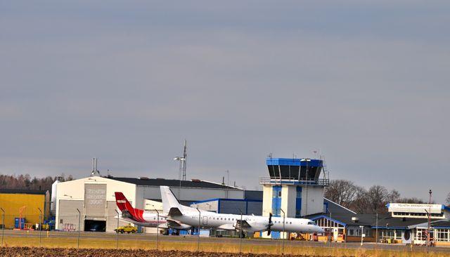 Flygfält Trollhättan - Vänersborg