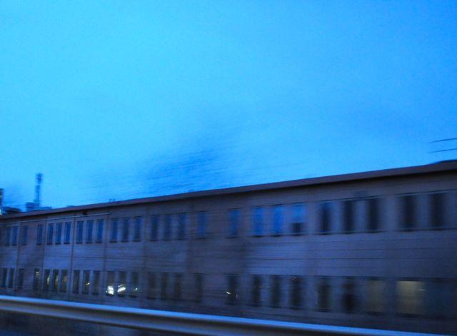 Бывший саабский завод по переработке Декабрь 2013