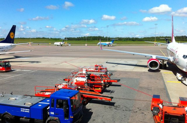 Аэропорт Ландветтер