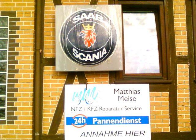 Saab Service Matthias Meise in Bebra-Breitenbach