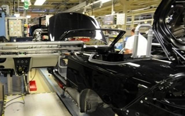 Saab конвертируемый в производство