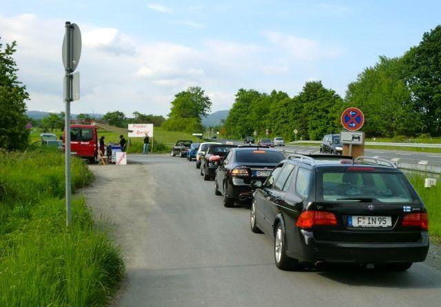 Bad Homburg: Saab Konvoi