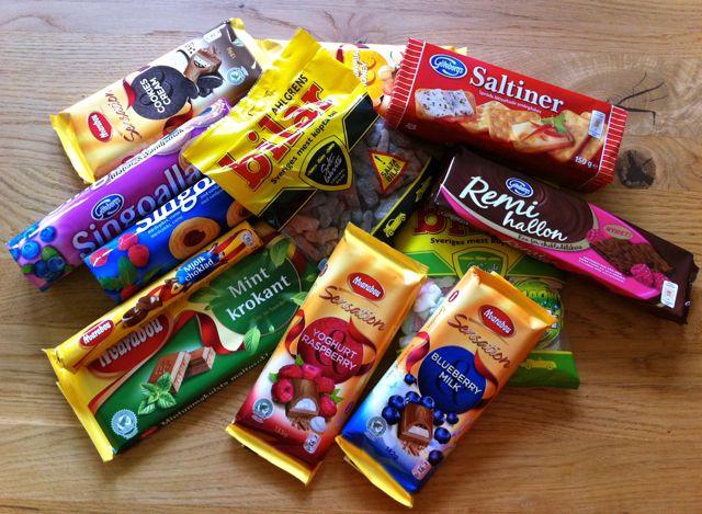 Schokolade aus Schweden