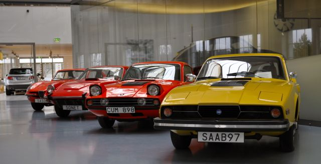 Saab Sonnet II, Saab Sonnet III en Catharina in het Saab-museum