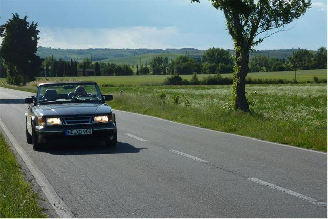 Saab 900 ein wunderschöner Klassiker. Bild von Otto