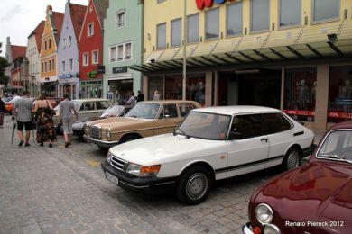 Saab 900 in der Oberpfalz. Foto Renato