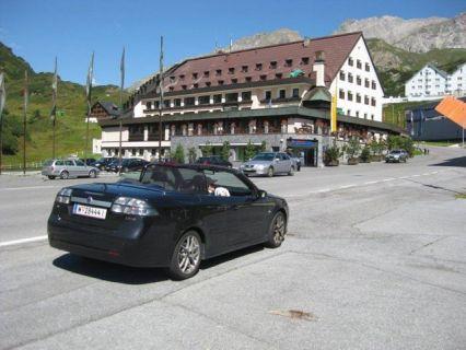 """Saab 9-3 Cabriolet """"Sommerarlbergtour 2"""", Foto von Günter"""