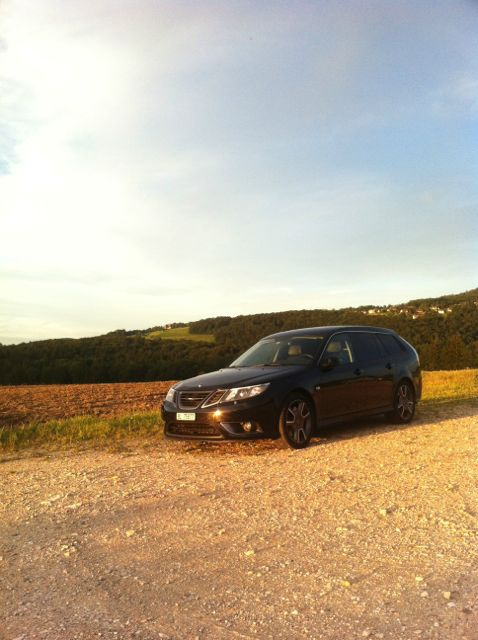 Saab Turbo X in the Jura II. Picture by Yves.