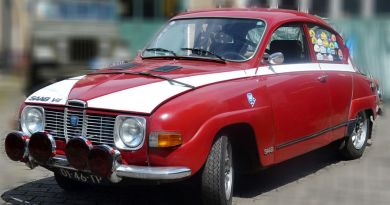 Startnummer 141, Saab 96 Rallye