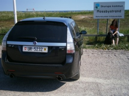 Saab 9-3 Playa Mossby. Foto de Ivo