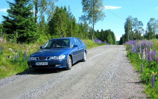 Saab 9-3 I en Suecia. Foto de Manfred.