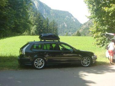 Saab 9-3 em Styria. Foto de Peter.
