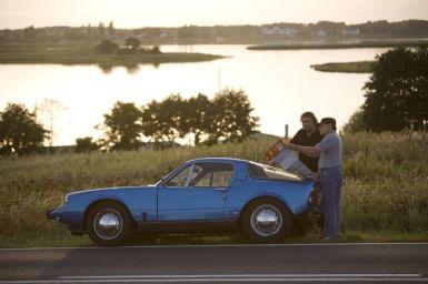 Saab Sonnet V4 na estrada Suécia. Foto de Ralf.