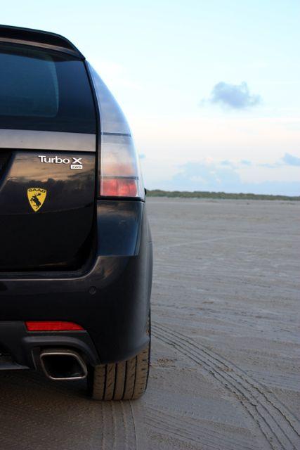 Saab Turbo X en Dinamarca. Foto de Mathias.
