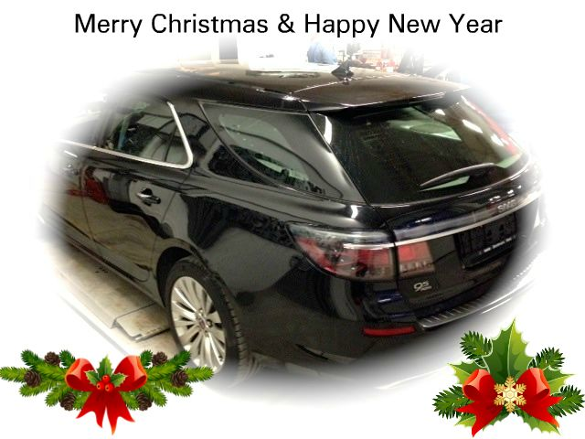 Saabblog.net wishes all Saab fans a Merry Christmas!