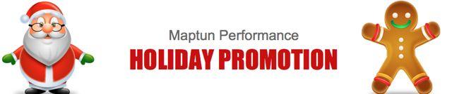 Maptun Weihnachts Promotion