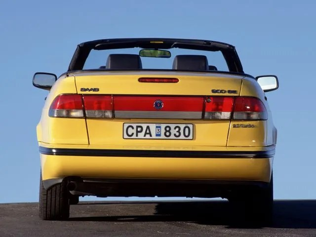 Saab 900 SE Yellow Mellow Cabriolet 1988