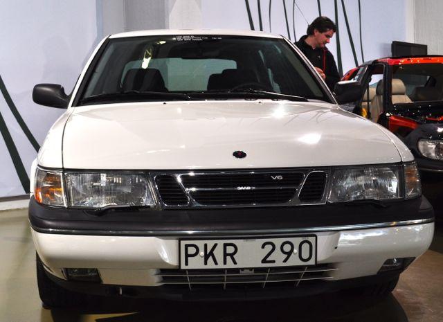 Saab 900 V6 på Saab-museet