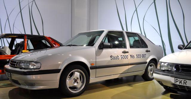 Im Saab Museum: der letzte 9000er nach 503.087 Exemplaren.