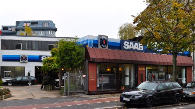 Saab Partner with tradition: Saab Bredlow in Berlin