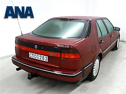 ...noch zu haben. Saab 9000 CS bei ANA in Schweden