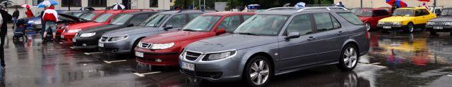 Saab 9-5 Anniversary 2009 Saab Festival Trollhattan