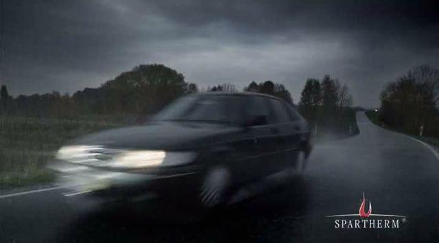 Saab im Werbespot