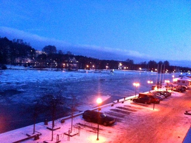 Saab Stadt Trollhattan heute morgen