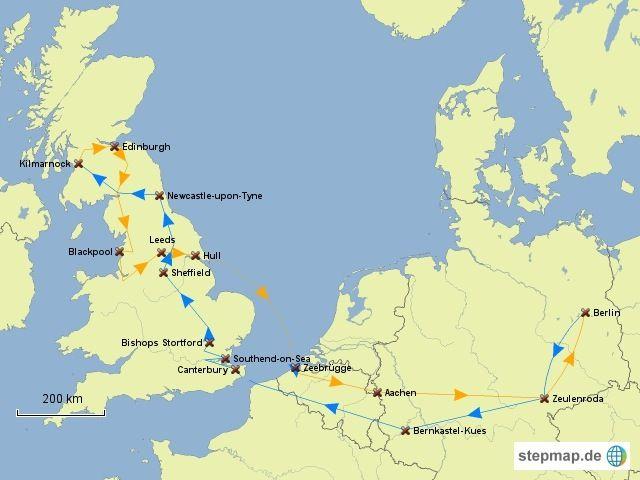 Nuestro itinerario