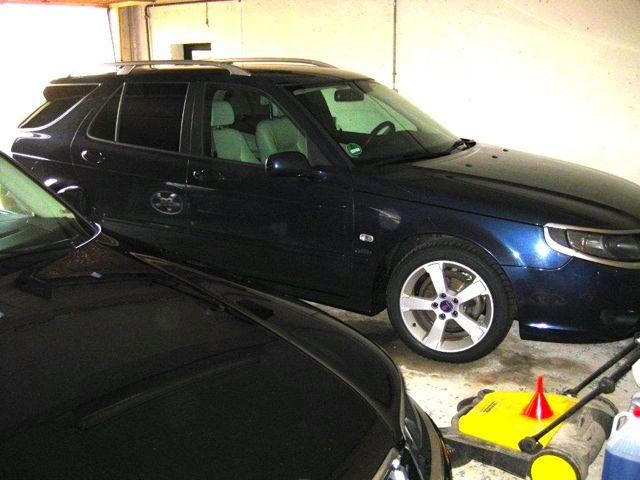 Vista na garagem: Saab 9-5 Griffin por Thomas