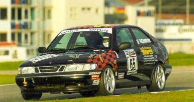 SAAB R900 sul circuito di Hockenheim