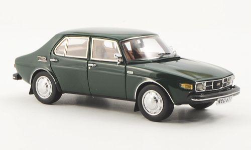 Saab 99 Dark Green. Tysk första leverans.