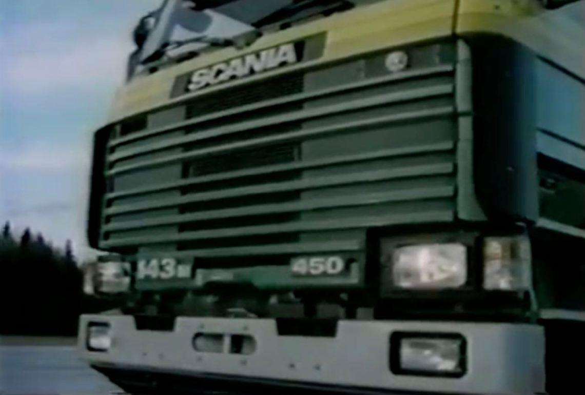 Filme de imagem Saab-Scania 1989