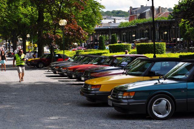 Spa 2012: International Saab in Belgien