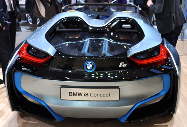 Cool: BMW i8 Concept