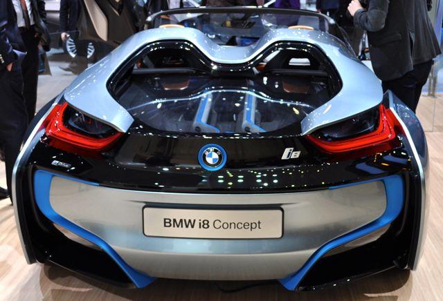 Cool: Conceito BMW i8
