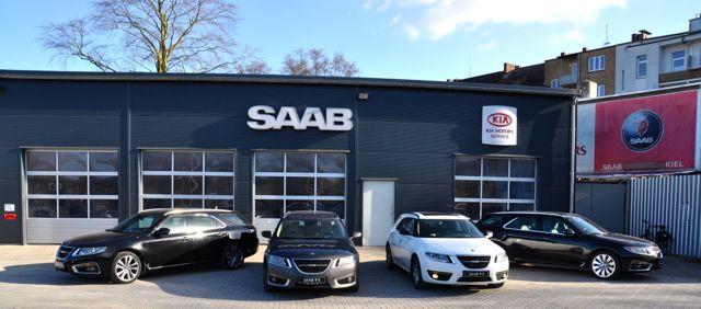 Saab Service Kiel ist das Kompetenz-Center fuer den 9-5 II Sportkombi