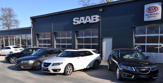 Saab 9-5 II Sportkombis in Kiel