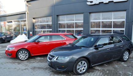 2 x Saab 9-5 II Sportsdräkt