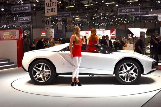 Studie: Giugiario Parcour Roadster