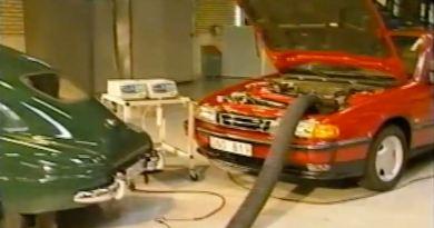 Spektakulär - Saab Trionic reinigt die Luft!
