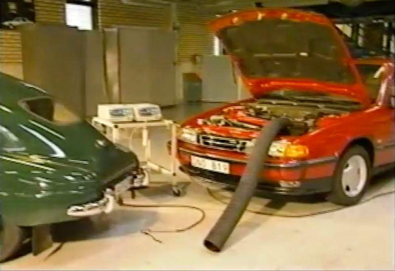 Spektakulär - Saab Trionic renar luften!
