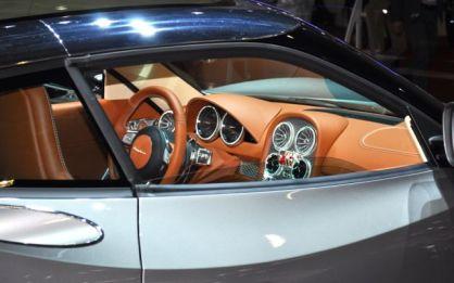 Luxus pur im Spyker Innenraum