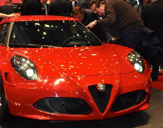 El clásico Alfa rojo