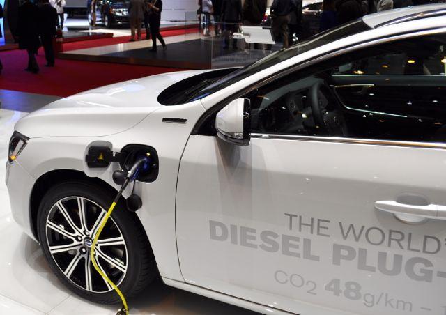 Världspremiär: Volvo Diesel Plugin Hybrid