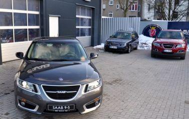 Sehr selten: Saab 9-5 China und Saab 9-4x